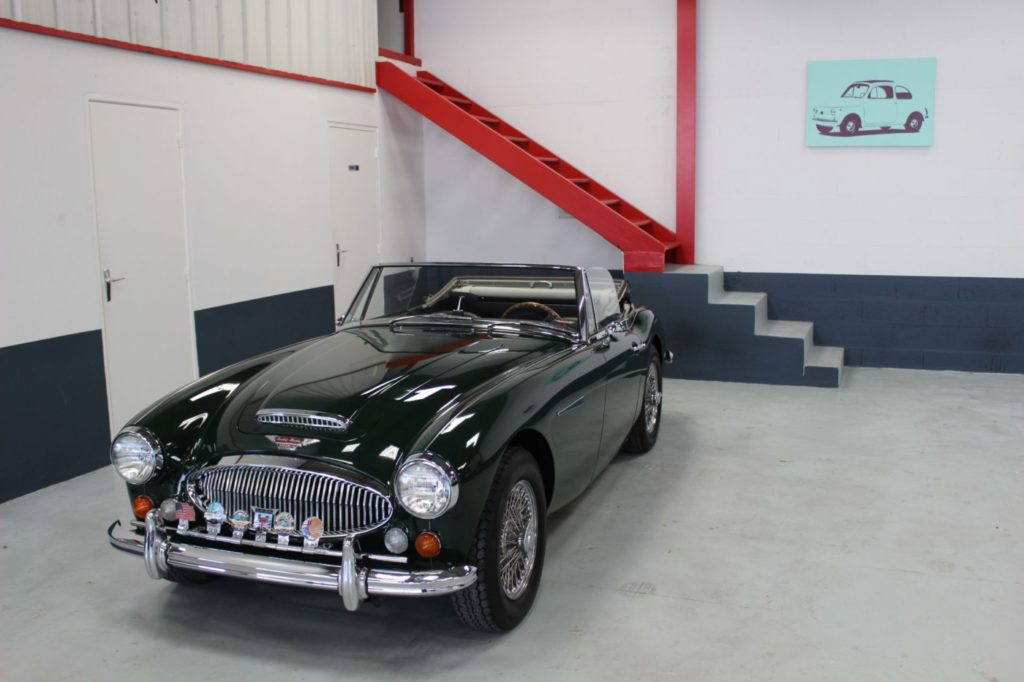 Vehicule Collection Biarritz Cforcar Austin Healey Bj8 Brg 1
