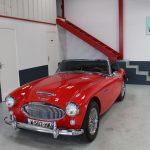 Vehicule Collection Biarritz Cforcar Austin Healey 3000 Rouge 1
