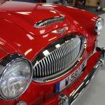 Vehicule Collection Biarritz Cforcar Austin Healey 3000 Rouge 31