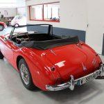 Vehicule Collection Biarritz Cforcar Austin Healey 3000 Rouge 4