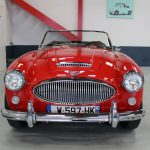 Vehicule Collection Biarritz Cforcar Austin Healey 3000 Rouge 8