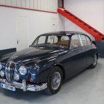 Vehicule Collection Biarritz Cforcar Jaguar Mk2 Bleue 2