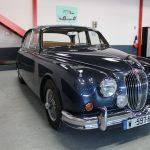 Vehicule Collection Biarritz Cforcar Jaguar Mk2 Bleue 8