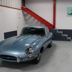 Vehicule Collection Biarritz Cforcar Jaguar Xke Bleu Opalescent 1