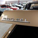 Vehicule Collection Biarritz Cforcar Mercedes 280sel W108 40