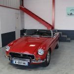 Vehicule Collection Biarritz Cforcar Mg Mgb Rouge 1