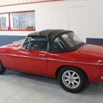 Vehicule Collection Biarritz Cforcar Mg Mgb Rouge 10
