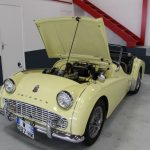 Vehicule Collection Biarritz Cforcar Triumph Tr3 Primerose 20