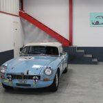 Vehicule Collection Mgb Fia Race Lmc 1