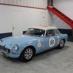 Vehicule Collection Mgb Fia Race Lmc 2