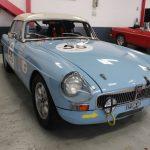 Vehicule Collection Mgb Fia Race Lmc 9