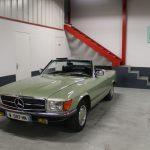 Voiture Ancienne Vendre Mercedes R107 280sl Vert 1