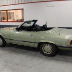 Voiture Ancienne Vendre Mercedes R107 280sl Vert 3