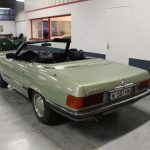 Voiture Ancienne Vendre Mercedes R107 280sl Vert 4