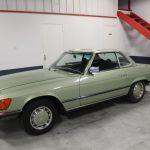 Voiture Ancienne Vendre Mercedes R107 280sl Vert 7