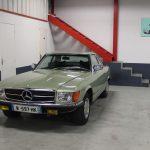 Voiture Ancienne Vendre Mercedes R107 280sl Vert 8