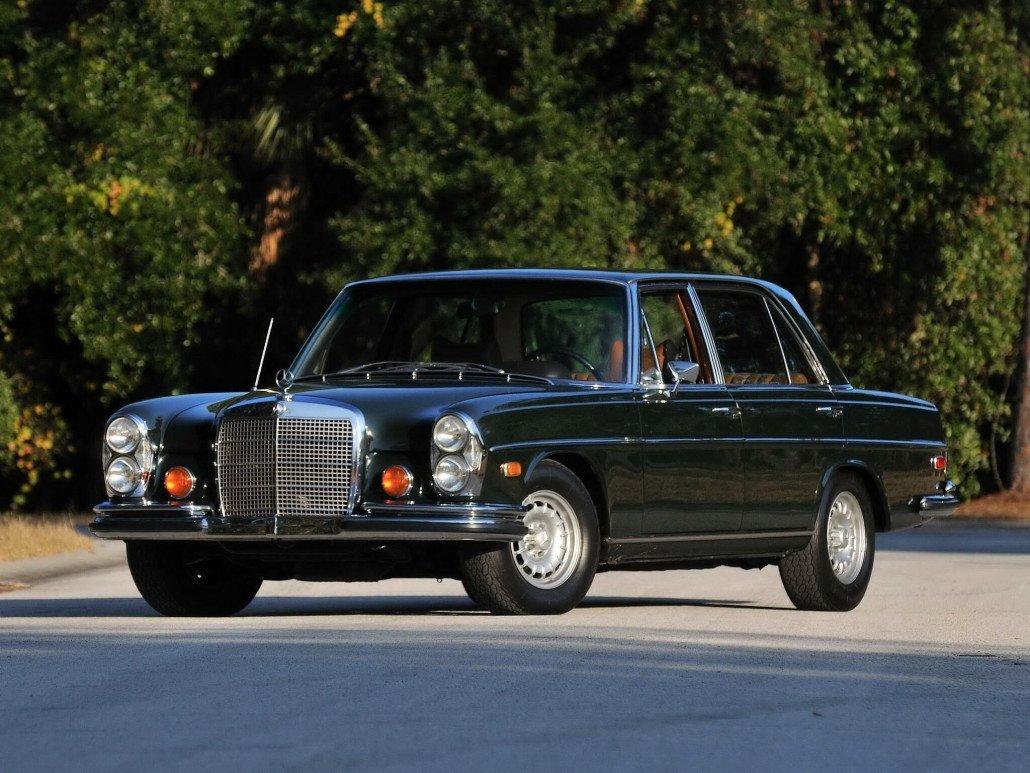 Mercedes W108 & W109