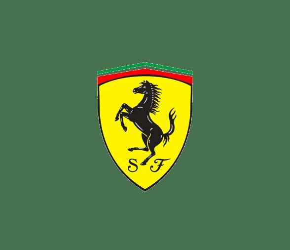 Cforcar Biarritz Voiture Logo Ferrari