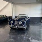 Voiture Ancienne Vendre Jaguar Xk150 Roadster Blue 2
