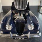 Voiture Ancienne Vendre Jaguar Xk150 Roadster Blue 23