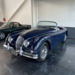 Voiture Ancienne Vendre Jaguar Xk150 Roadster Blue 3