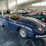 Voiture Ancienne Vendre Jaguar Xk150 Roadster Blue 4
