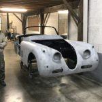 Voiture Ancienne Vendre Jaguar Xk150 Roadster Blue 46