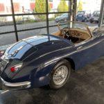 Voiture Ancienne Vendre Jaguar Xk150 Roadster Blue 5