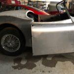 Voiture Ancienne Vendre Jaguar Xk150 Roadster Blue 57