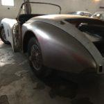 Voiture Ancienne Vendre Jaguar Xk150 Roadster Blue 58