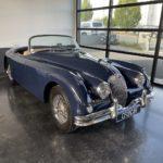 Voiture Ancienne Vendre Jaguar Xk150 Roadster Blue 6
