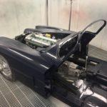 Voiture Ancienne Vendre Jaguar Xk150 Roadster Blue 61
