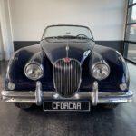 Voiture Ancienne Vendre Jaguar Xk150 Roadster Blue 7